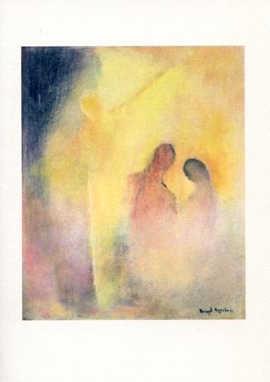 Konstkort Vad är mer vederkvickande än ljuset? ... Samtalet