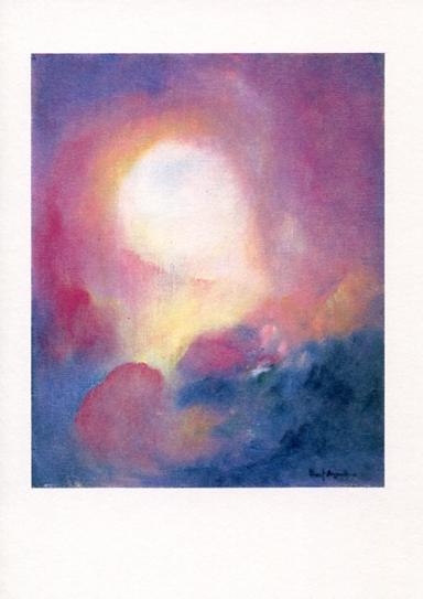 Konstkort Midnattens glöd